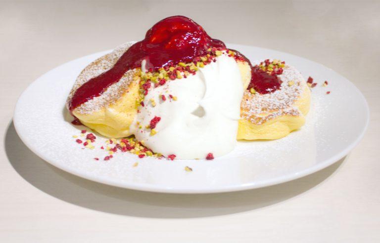 クラシカルフランボワーズパンケーキ