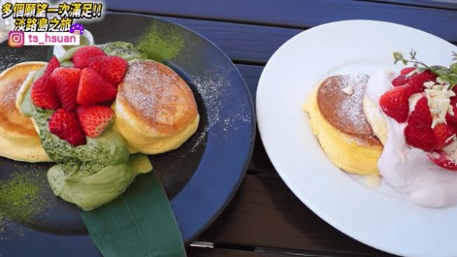 幸せのパンケーキご紹介